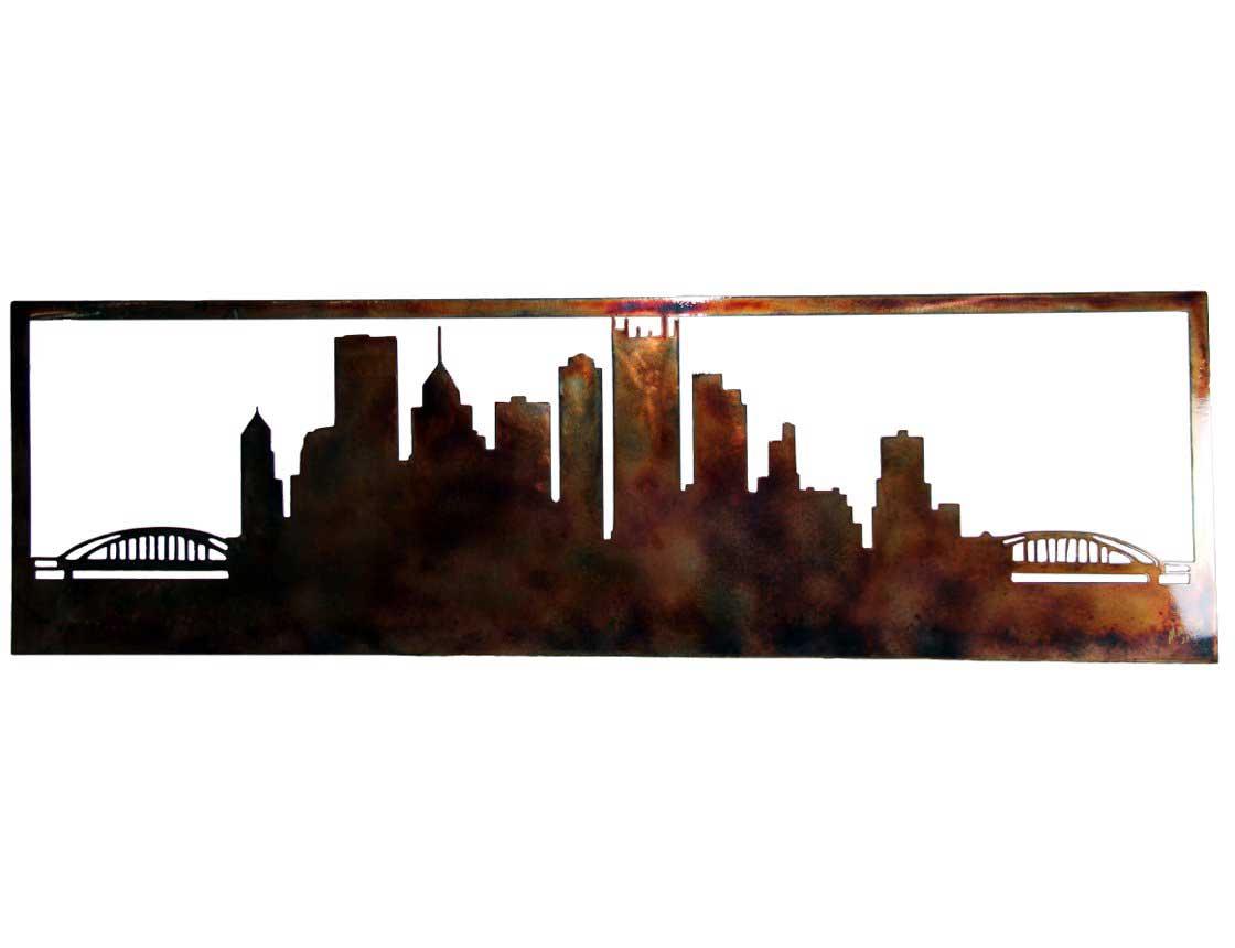 Decor Wall Art Pittsburgh Skyline